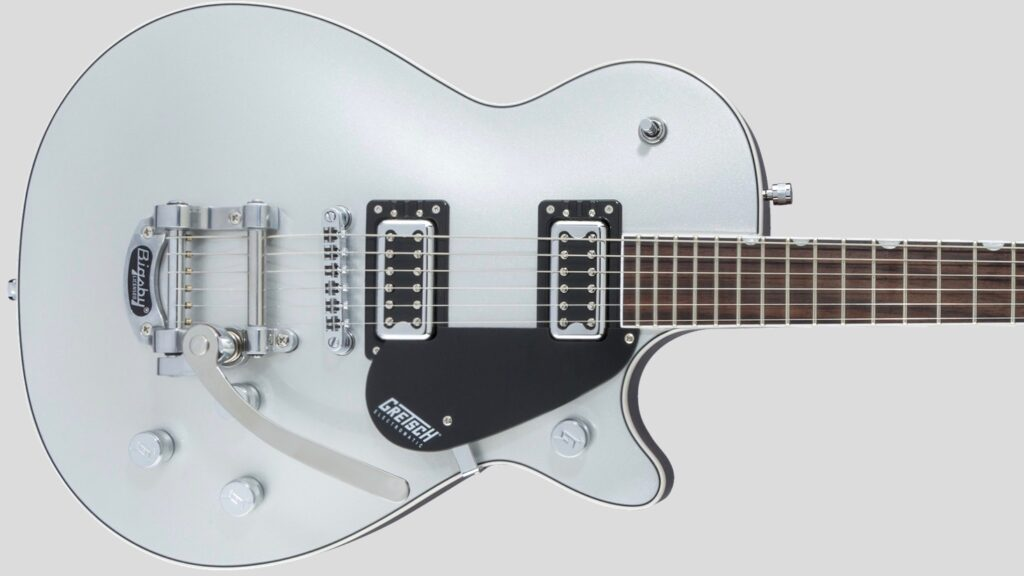 Gretsch G5230T Jet FT Single-Cut with Bigsby Electromatic Collection Solid Body Airline Silver 2507210547