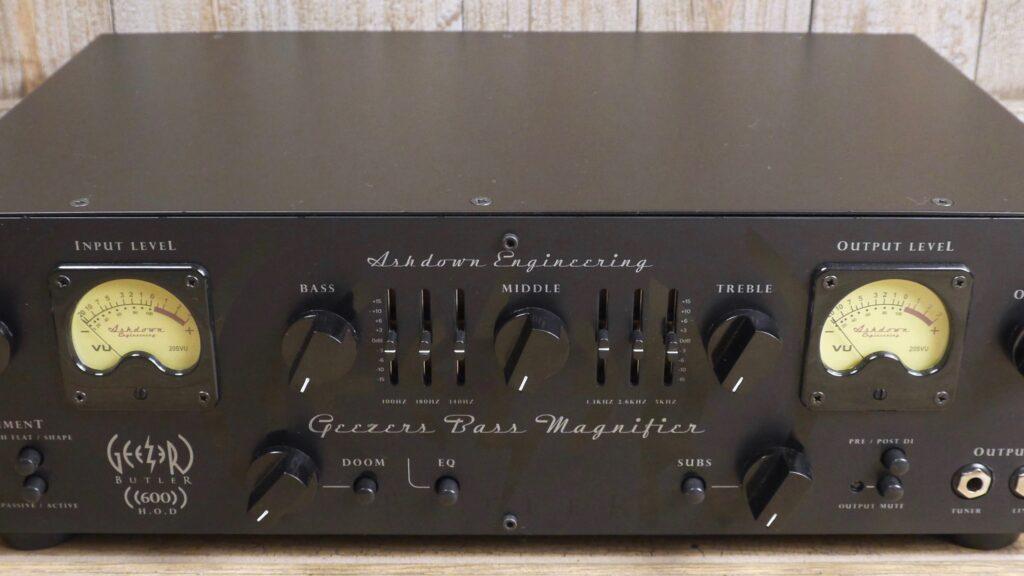 Ashdown Custom Shop Geezer Butler HOD 600 Head Of Doom 600 watt Made in UK
