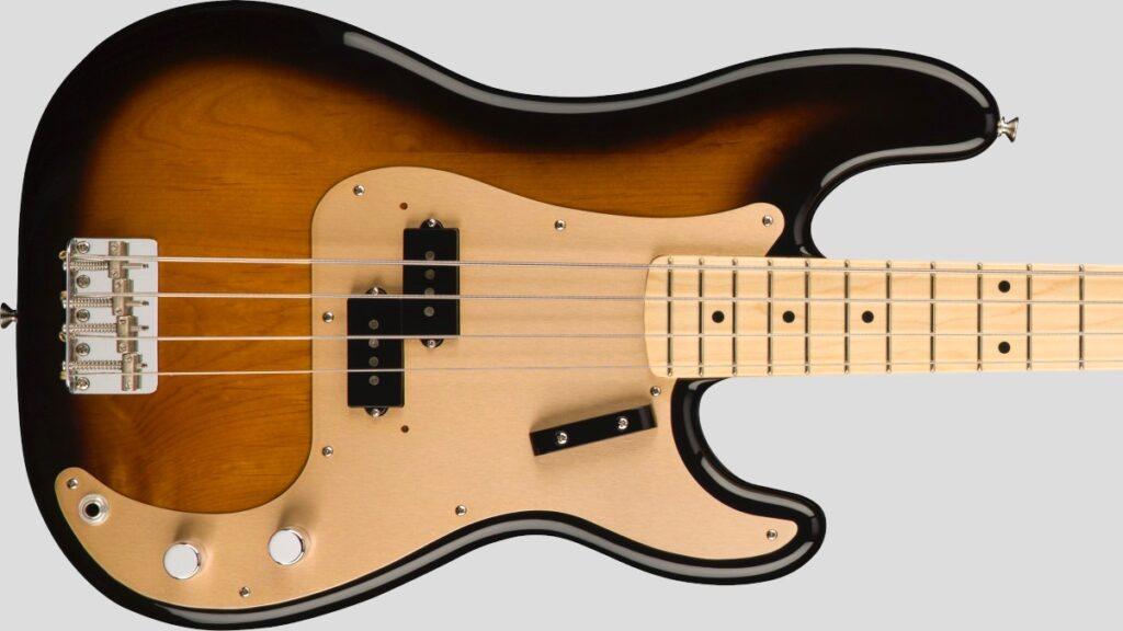 Fender 50 Precision Bass American Original 2-Color Sunburst 0190102803 Made in Usa inclusa custodia rigida G&G