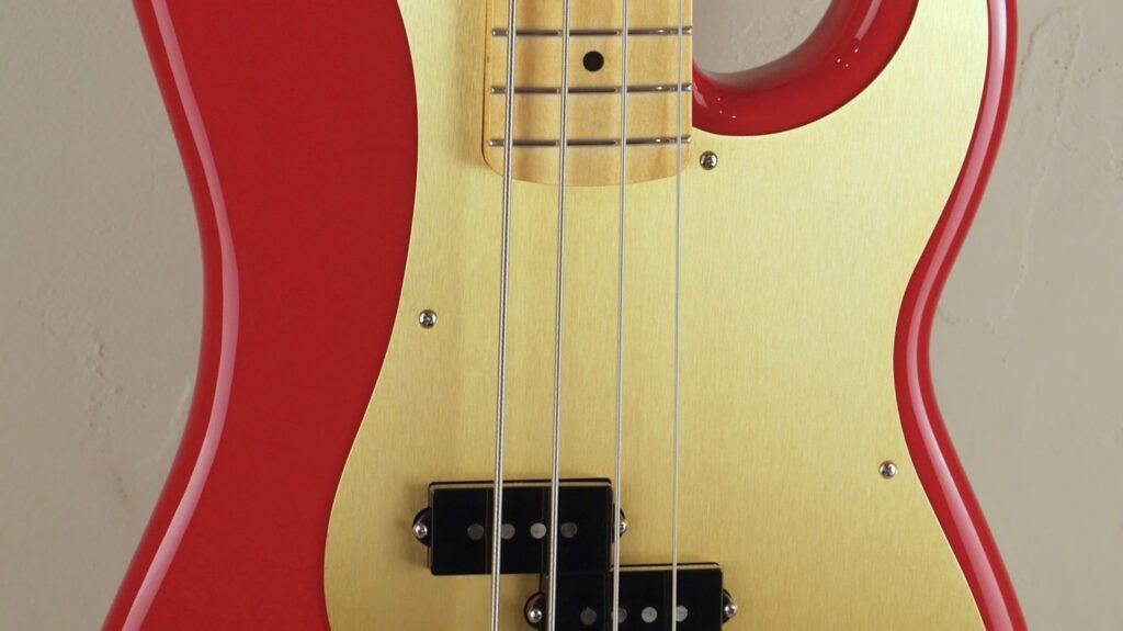 Fender 50 Precision Bass Vintera Dakota Red 0149612354 Made in Mexico inclusa custodia Fender Gig Bag Deluxe