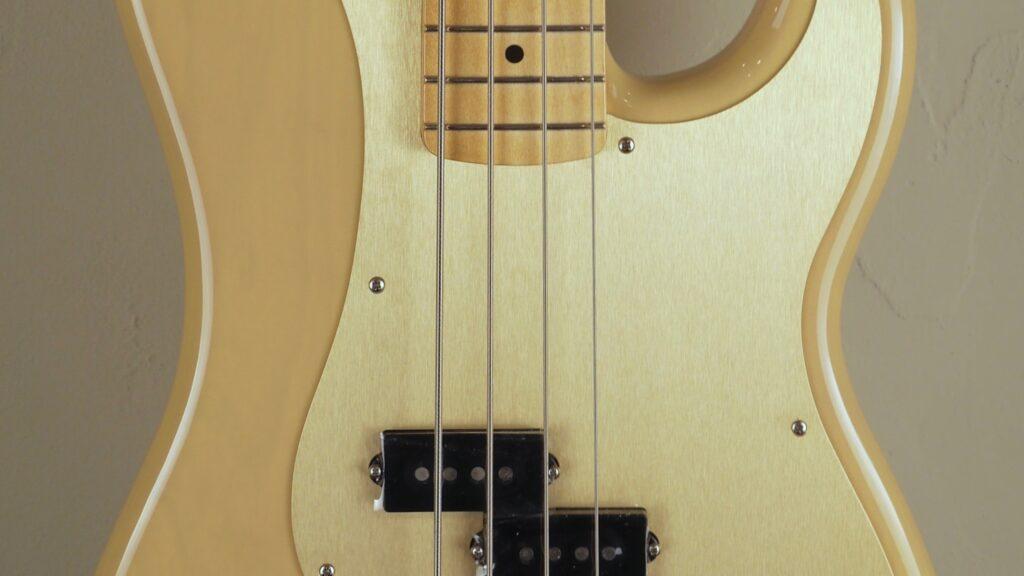 Fender 50 Precision Bass Vintera Vintage Blonde 0149612307 Made in Mexico inclusa custodia Fender Gig Bag Deluxe