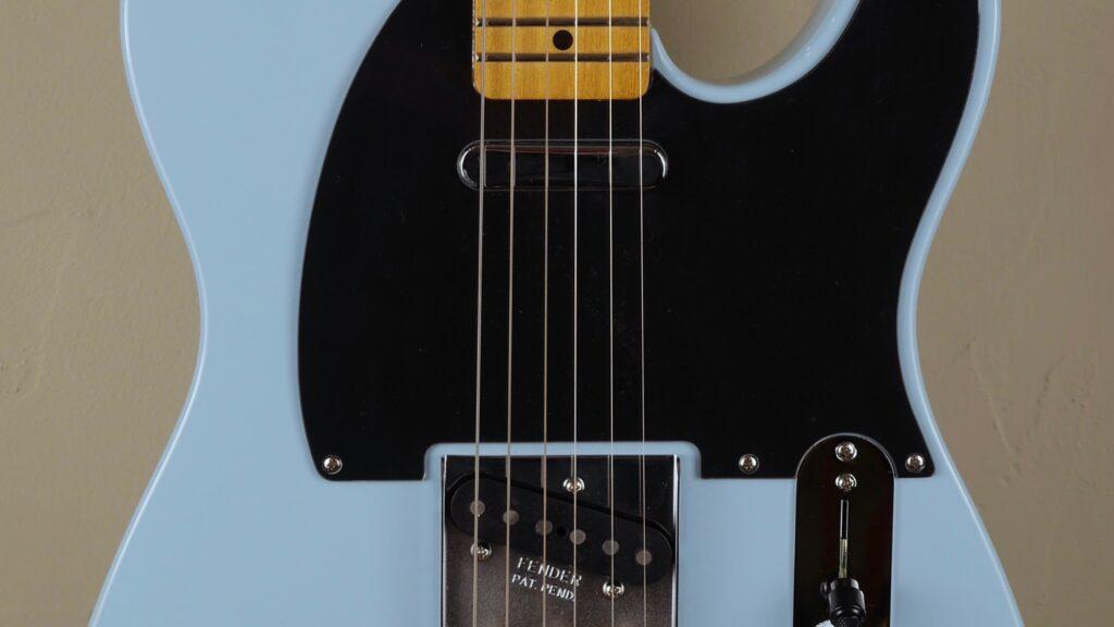 Fender 50 Telecaster Modified Vintera Daphne Blue 0149862304 inclusa custodia Fender Gig Bag Deluxe