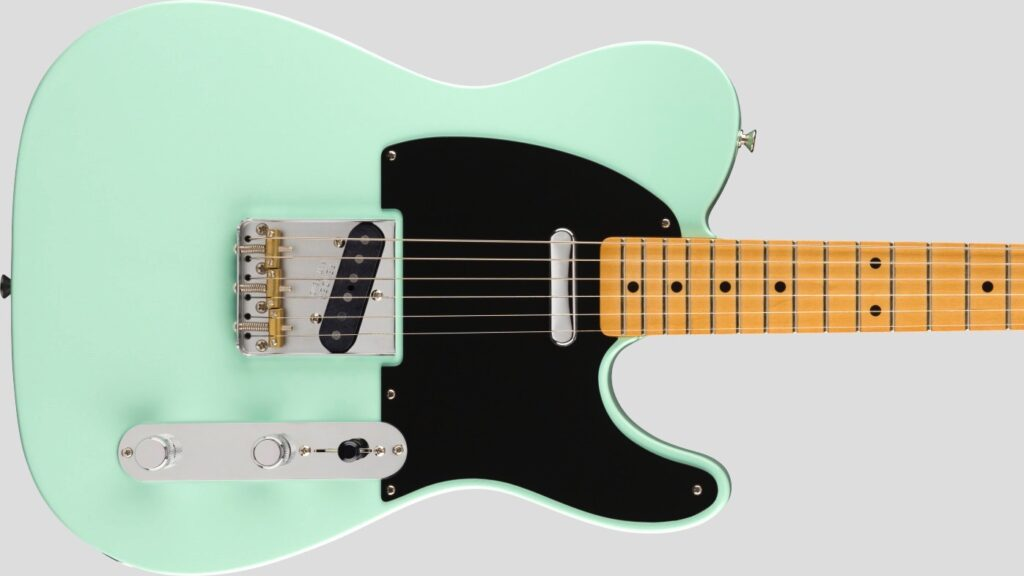 Fender 50 Telecaster Modified Vintera Surf Green 0149862357 inclusa custodia Fender Gig Bag Deluxe