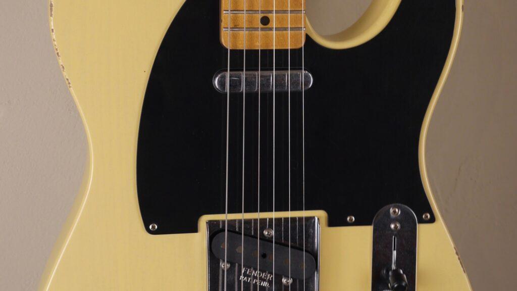 Fender 50 Telecaster Vintera Road Worn Vintage Blonde 0149872307 Made in Mexico inclusa custodia Fender