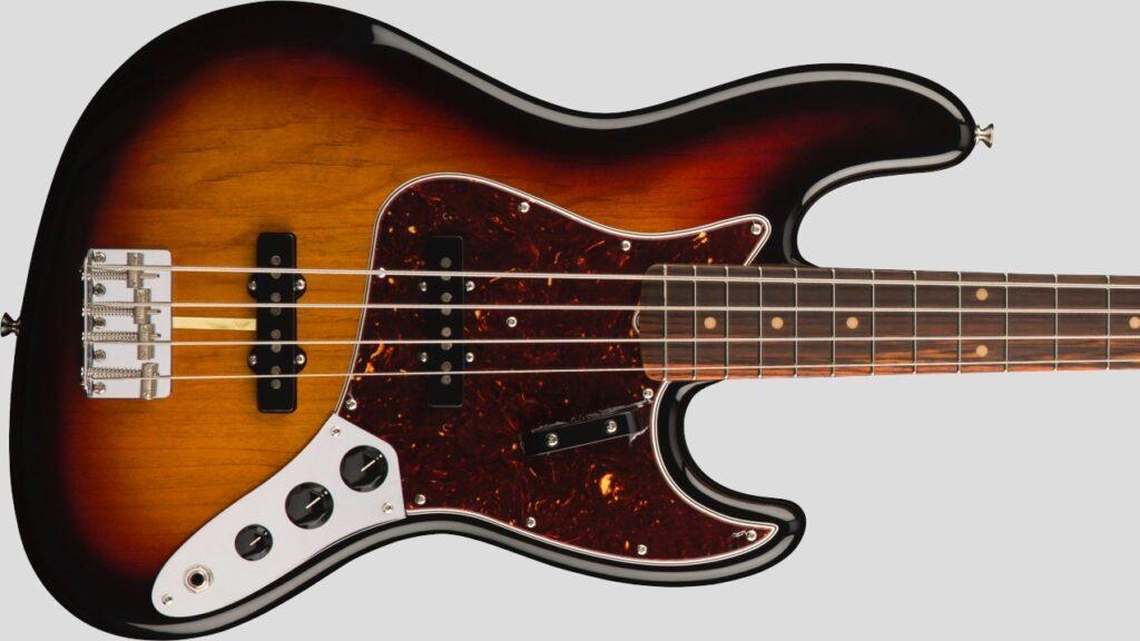 Fender 60 Jazz Bass American Original 3-Color Sunburst 0190130800 Made in Usa inclusa custodia rigida Fender G&G