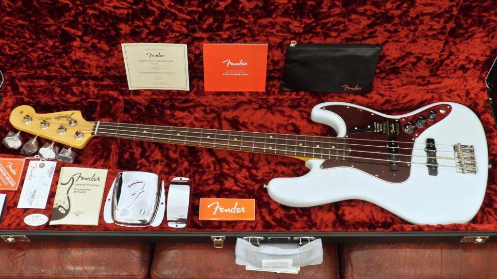 Fender 60 Jazz Bass American Original Sonic Blue 0190130872 Made in Usa inclusa custodia rigida Fender G&G