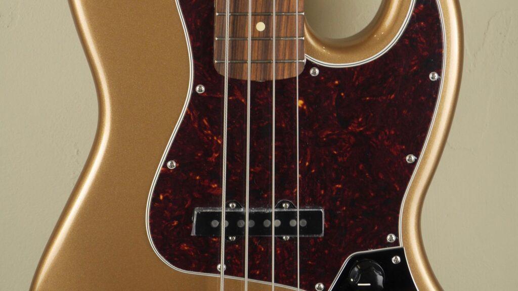 Fender 60 Jazz Bass Vintera Firemist Gold 0149633353 Made in Mexico inclusa custodia Fender Gig Bag Deluxe