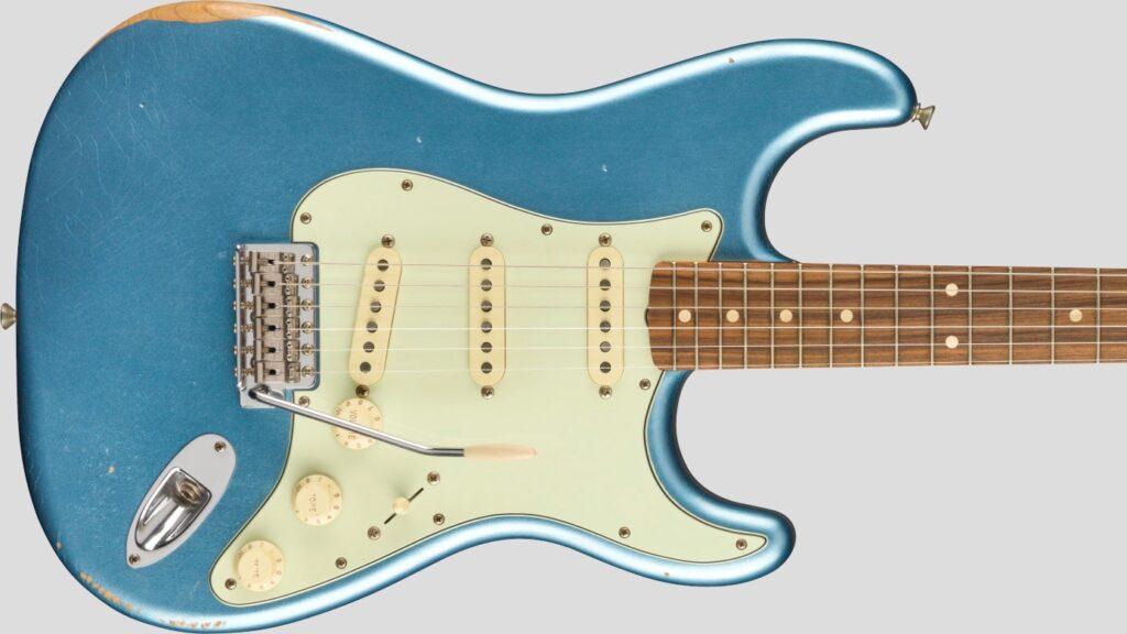Fender 60 Stratocaster Vintera Road Worn Lake Placid Blue 0149833302 Made in Mexico inclusa custodia Fender