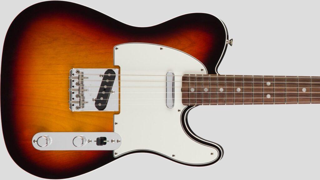 Fender 60 Telecaster American Original 3-Color Sunburst 0110140800 Made in Usa inclusa custodia rigida G&G