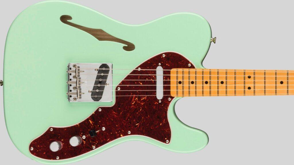Fender 60 Telecaster Thinline American Original Surf Green 0110172857 Made in Usa inclusa custodia rigida G&G