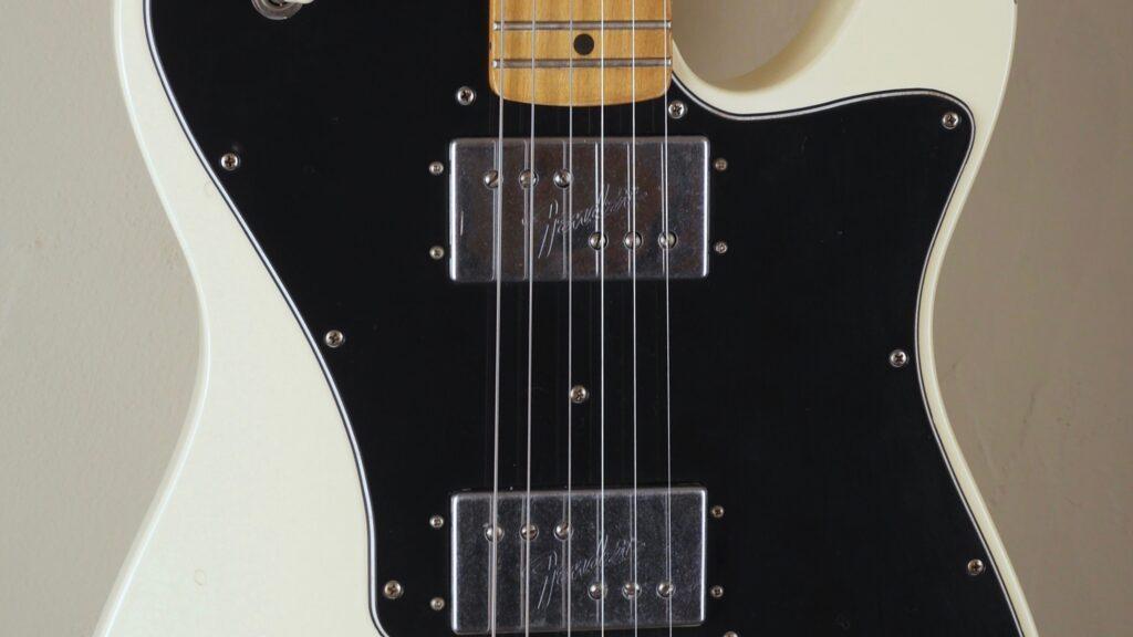 Fender 70 Telecaster Deluxe Vintera Road Worn Olympic White 0149712305 Made in Mexico inclusa custodia Fender