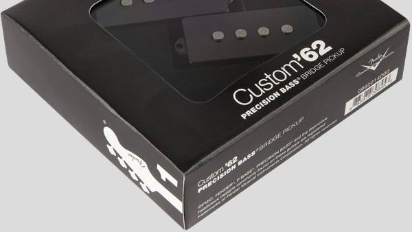 Fender Custom Shop Custom 62 Precision Bass Pickup 0992214000 Made in Usa inclusi manuale, viti e gommini