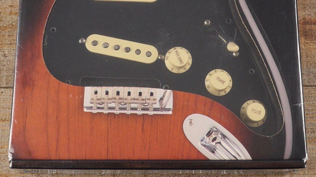 Fender Custom Shop Pre-Wired Fat 50 Stratocaster Pickup Set Pickguard Black 0992340506 Made in Usa
