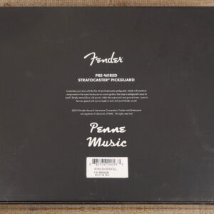 Fender Custom Shop Pre-Wired Fat 50 Stratocaster Pickup Set Pickguard Black 2