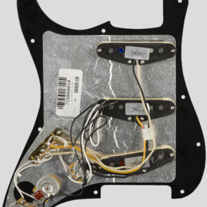 Fender Custom Shop Pre-Wired Fat 50 Stratocaster Pickup Set Pickguard Black 6