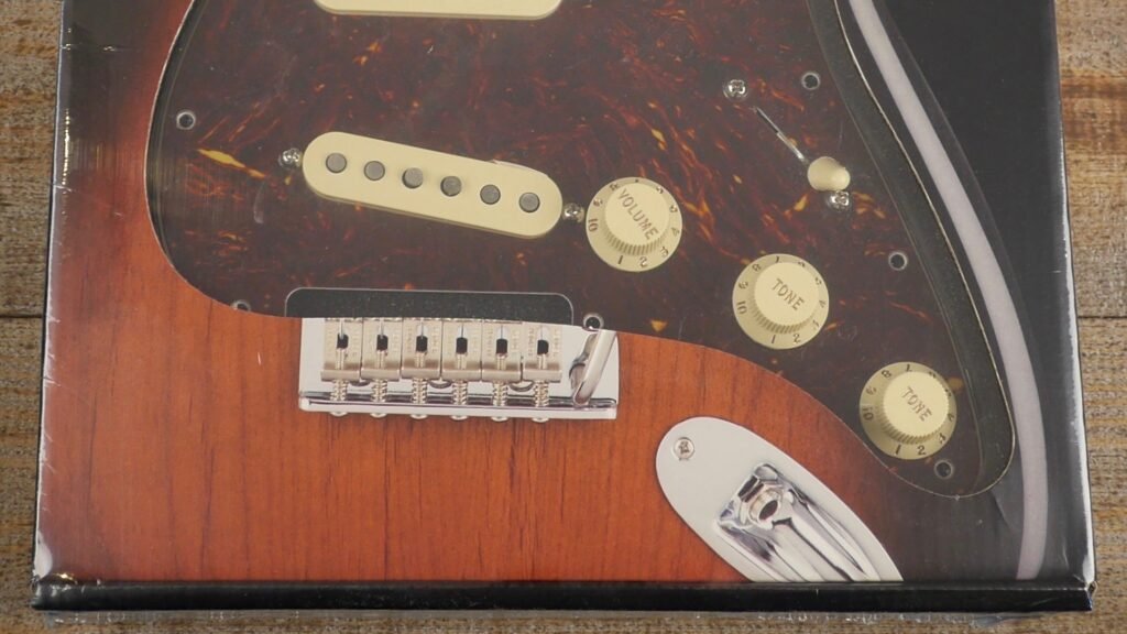 Fender Custom Shop Pre-Wired Fat 50 Stratocaster Pickup Set Pickguard Tortoise Shell 0992340500 Made in Usa