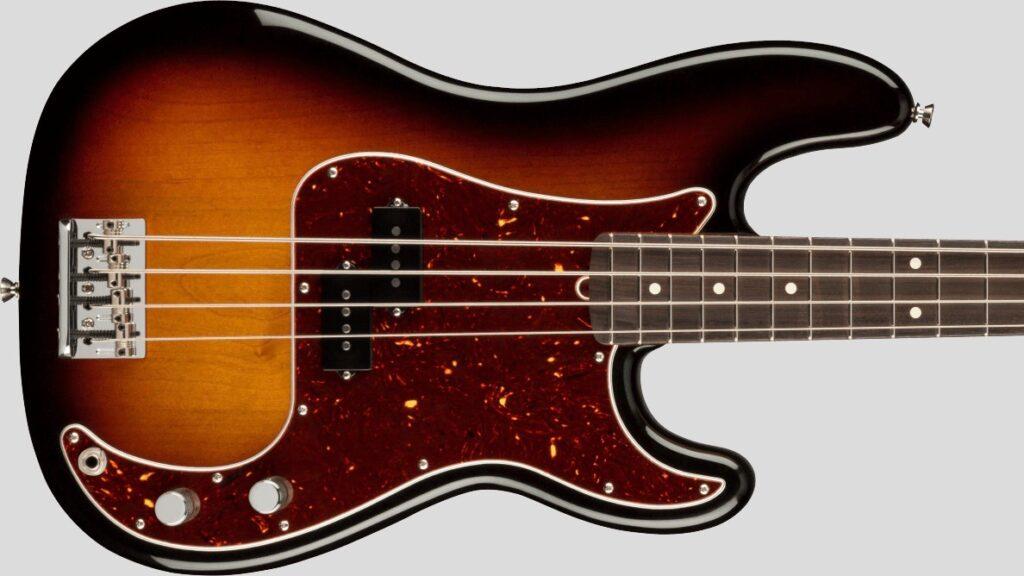 Fender Precision Bass American Professional II 3-Color Sunburst RW Made in Usa inclusa custodia rigida Fender