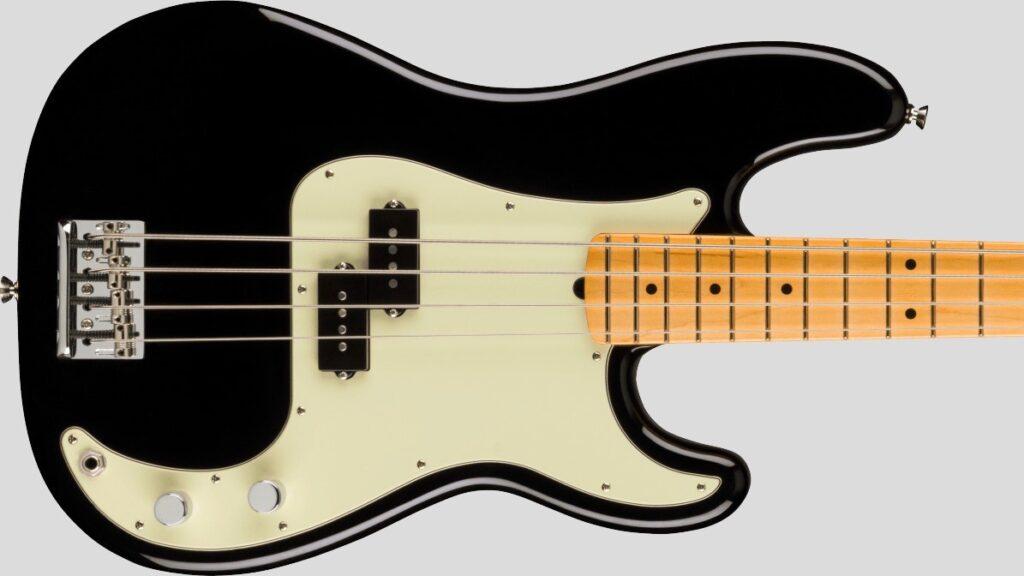 Fender Precision Bass American Professional II Black 0193932706 Made in Usa inclusa custodia rigida Fender