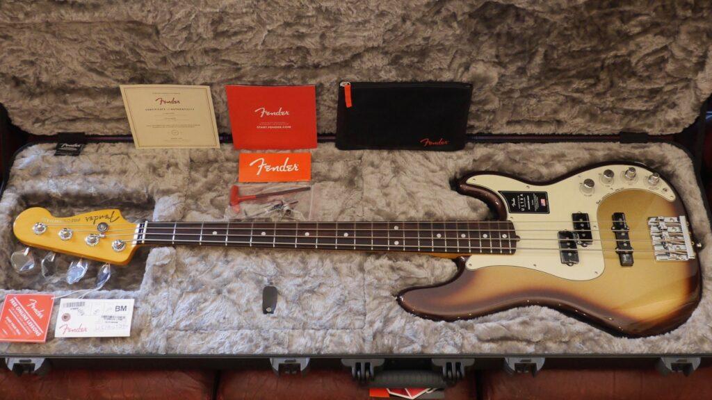 Fender Precision Bass American Ultra Mocha Burst 0199010732 Made in Usa inclusa custodia rigida Fender