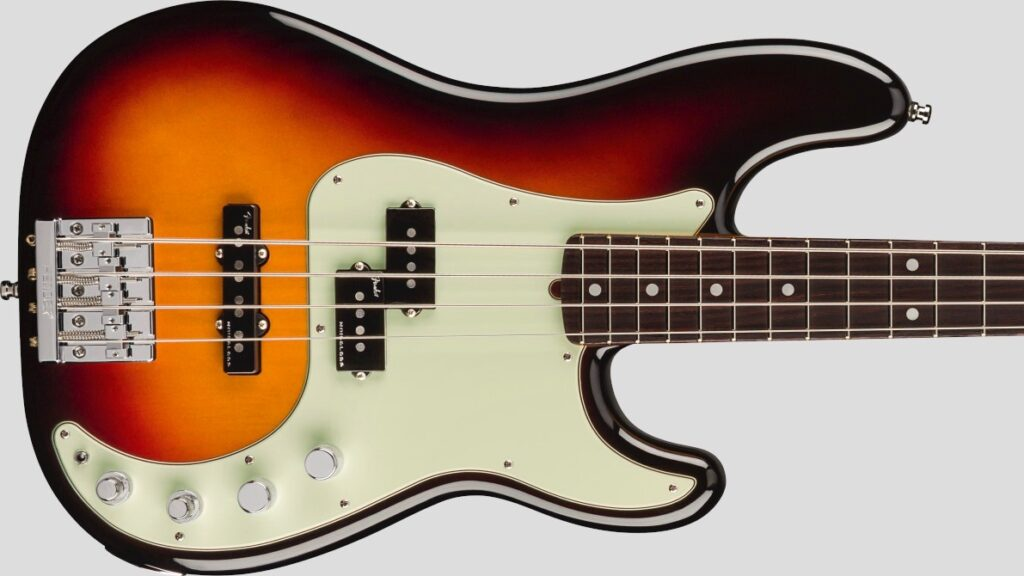Fender Precision Bass American Ultra Ultraburst 0199010712 Made in Usa inclusa custodia rigida Fender