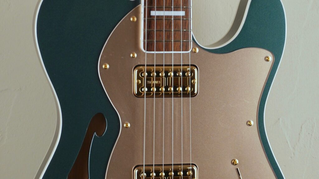Fender Super Deluxe Thinline Telecaster Limited Edition Sherwood Green Metallic 5250041346 Made in Japan