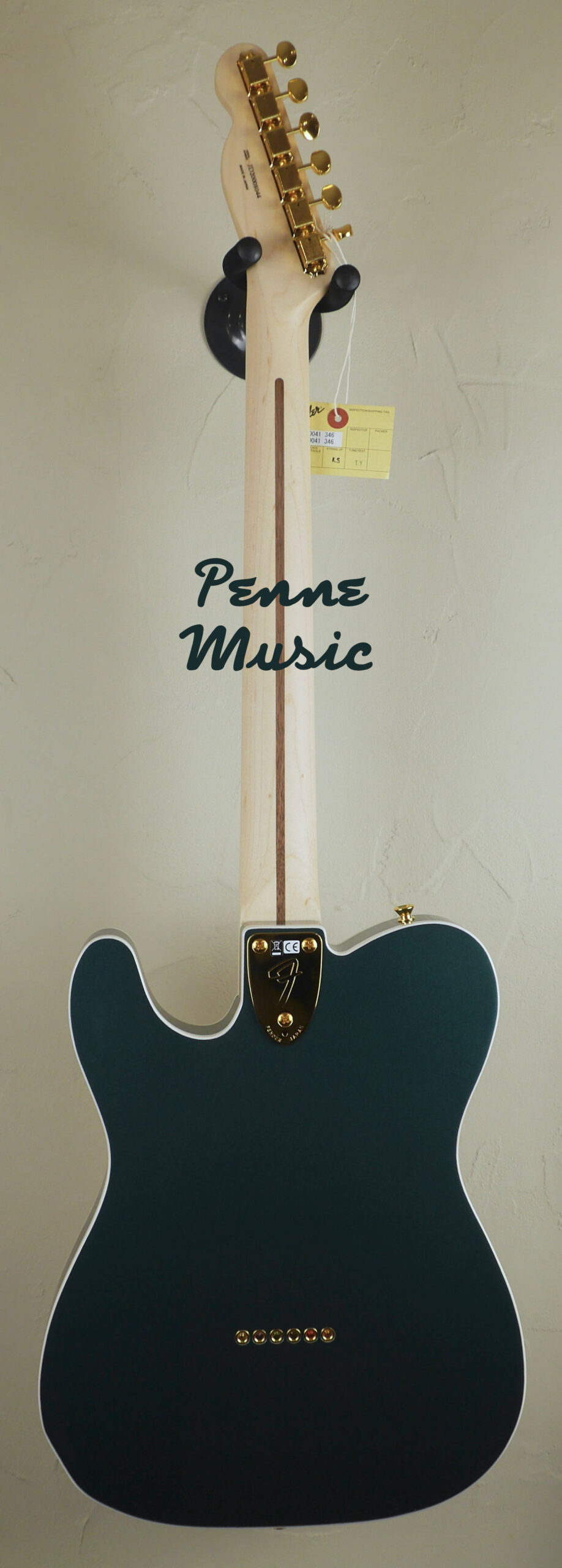 Fender Super Deluxe Thinline Telecaster Limited Edition Sherwood Green Metallic 2