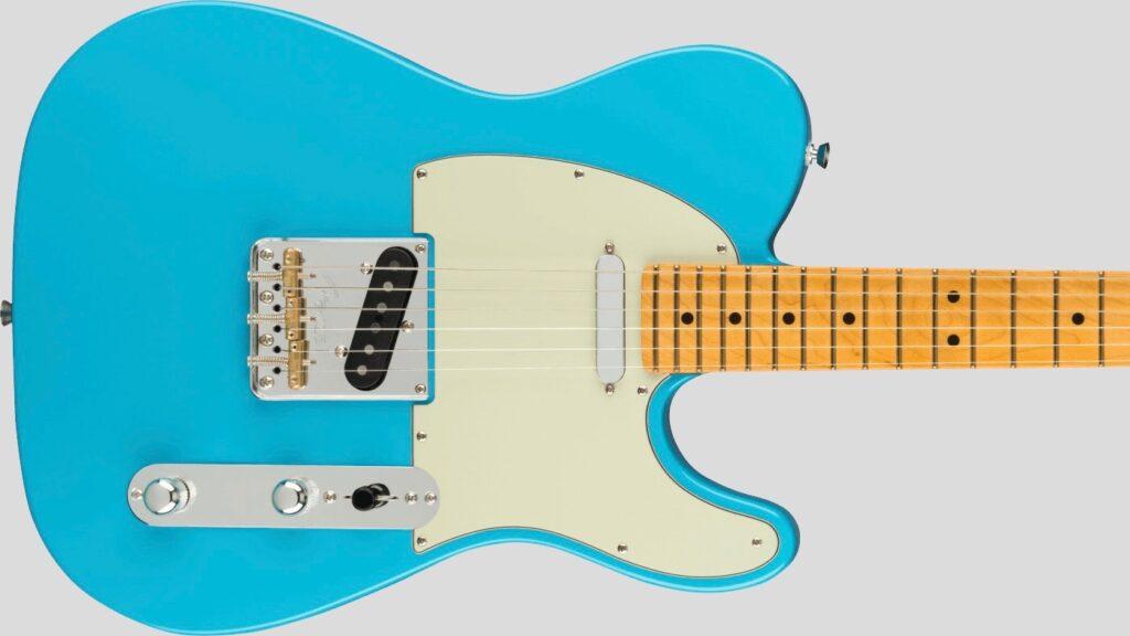 Fender Telecaster American Professional II Miami Blue 0113940718 Made in Usa inclusa custodia rigida Fender