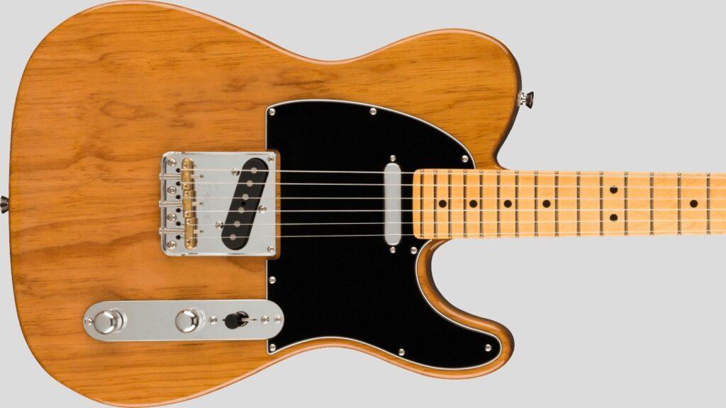 Fender Telecaster American Professional II Roasted Pine 0113940718 Made in Usa inclusa custodia rigida Fender