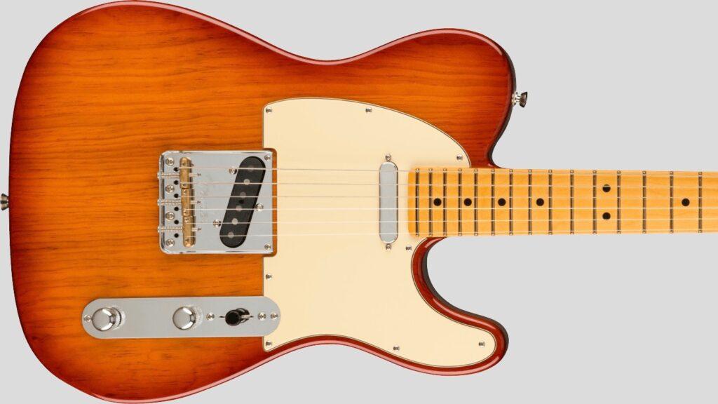 Fender Telecaster American Professional II Sienna Sunburst 0113942747 Made in Usa inclusa custodia rigida