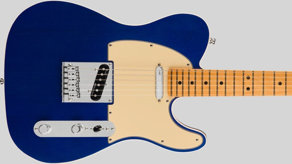 Fender Telecaster American Ultra Cobra Blue 0118032795 Made in Usa inclusa custodia rigida Fender