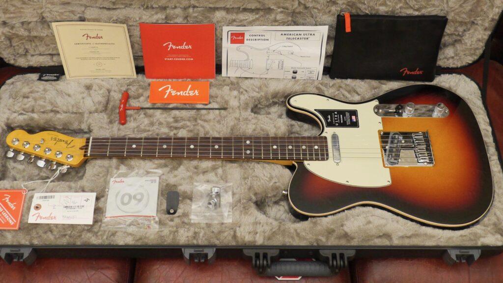Fender Telecaster American Ultra Ultraburst RW 0118030712 Made in Usa inclusa custodia rigida Fender