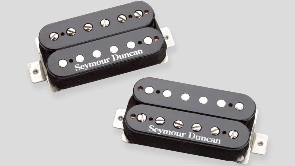 Seymour Duncan SH-4 JB / SH-2N Jazz Hot Rodded Humbucker Set (4 conduttori) Black 11108-13-B Made in Usa