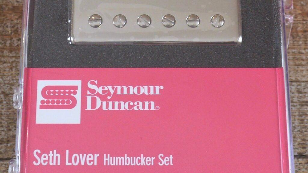 Seymour Duncan SH-55B / SH-55N Seth Lover Humbucker Set (2 conduttori) Nickel 11108-20-NC Made in Usa