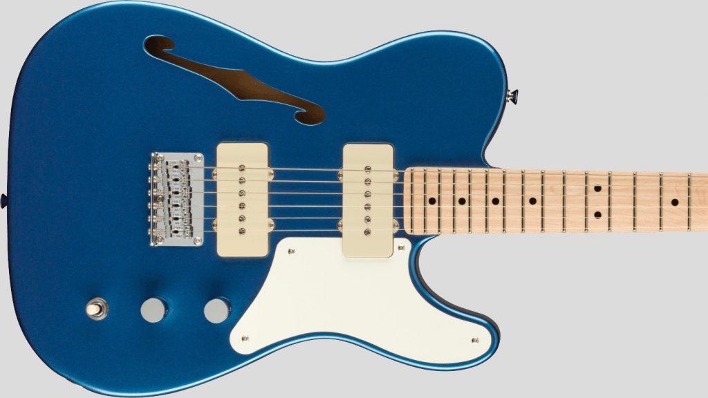 Squier by Fender Cabronita Telecaster Thinline Paranormal Lake Placid Blue con custodia Fender in omaggio