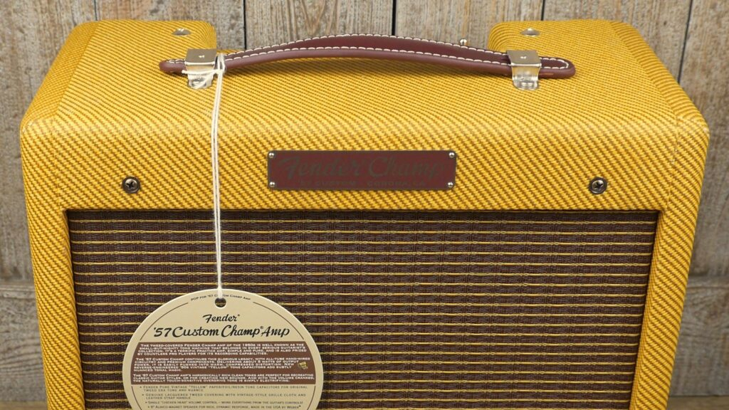 Fender 57 Custom Champ Hand-Wired 8160506100 Made in Usa inclusa Cover