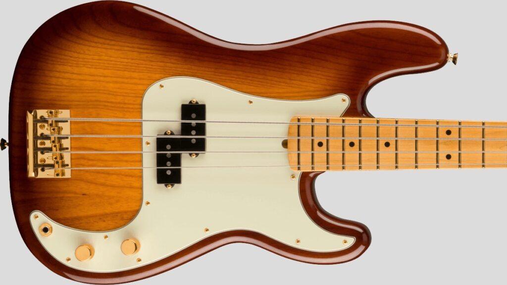 Fender 75th Anniversary Commemorative Precision Bass Limited Edition 2-Color Bourbon Burst 0177552833 Made in Usa