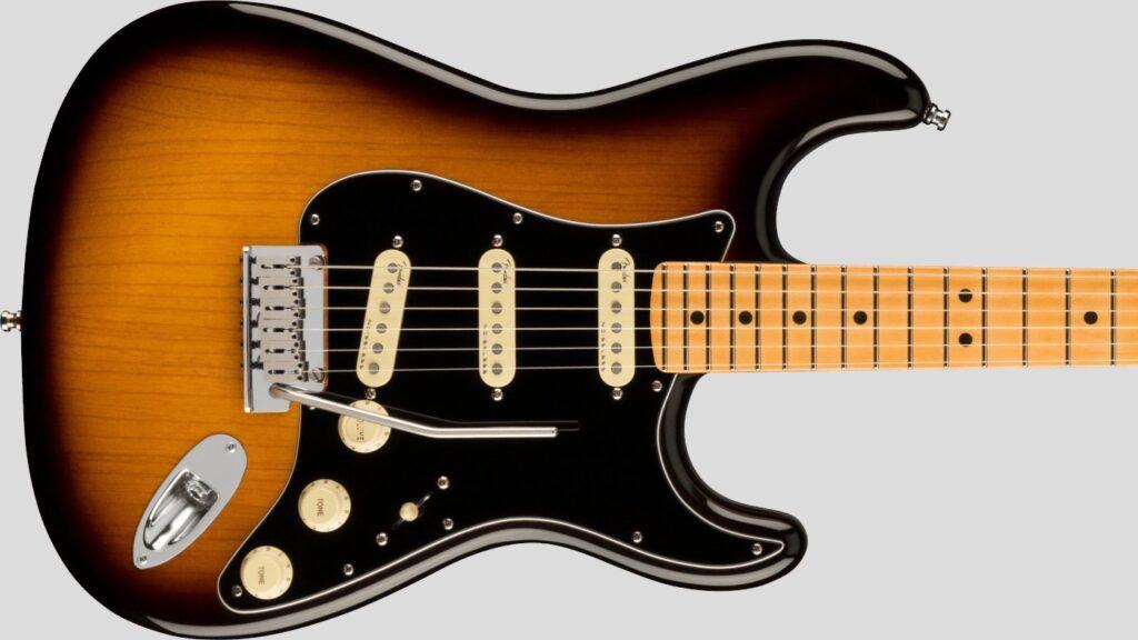 Fender Stratocaster American Ultra Luxe 2-Color Sunburst MN 0118062703 Made in Usa inclusa custodia rigida