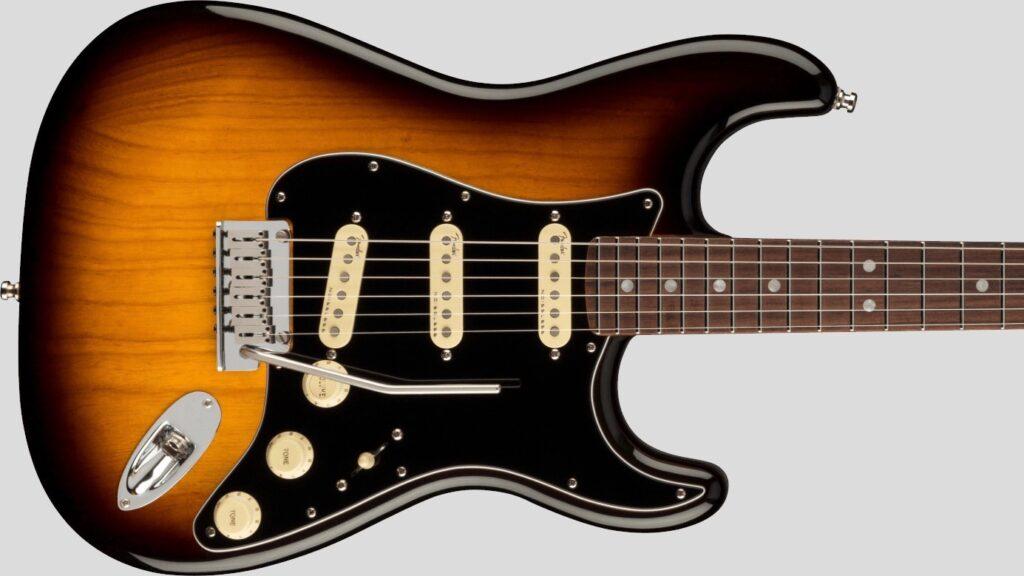 Fender Stratocaster American Ultra Luxe 2-Color Sunburst RW 0118060703 Made in Usa inclusa custodia rigida