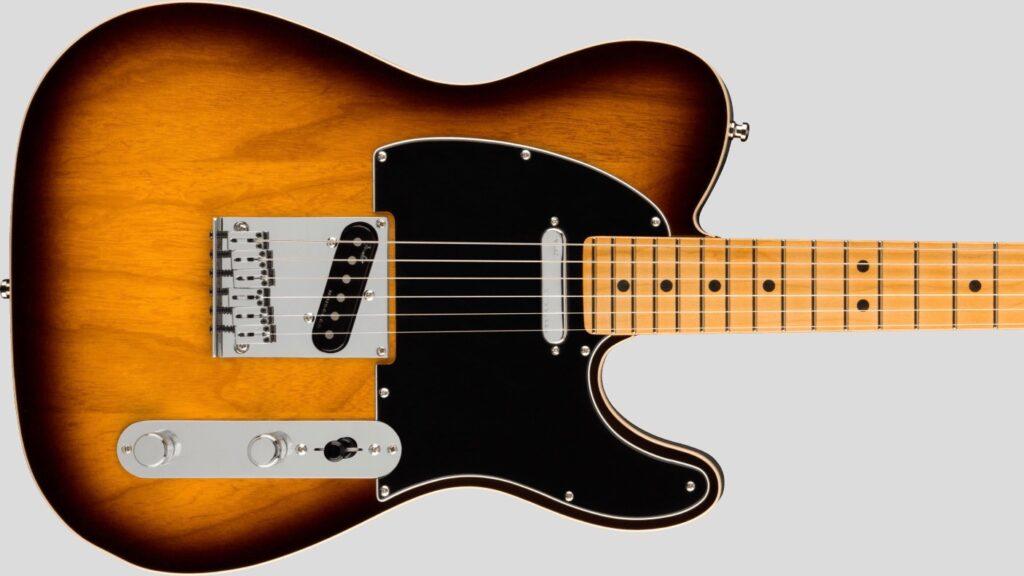 Fender Telecaster American Ultra Luxe 2-Color Sunburst 0118082703 Made in Usa inclusa custodia rigida Fender