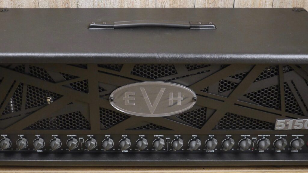 EVH 5150III 100S 6L6 Head Stealth 2250256000 Made in Mexico incluso 4-Button Footswitch