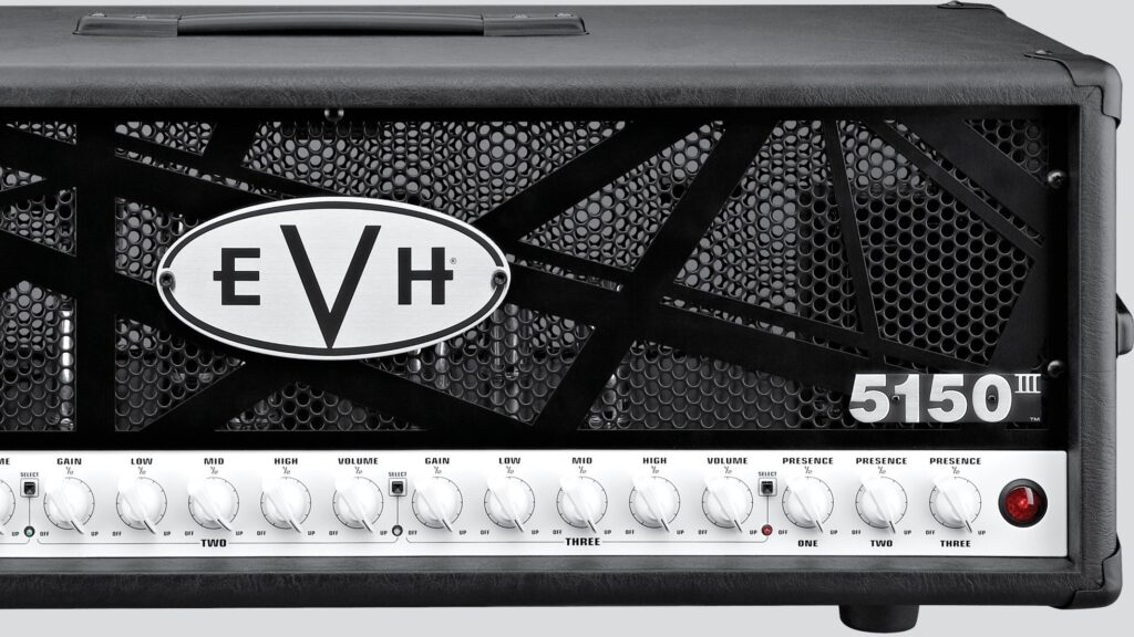 EVH 5150III 100W 6L6 Head Black 2251006000 Made in Mexico incluso 4-Button Footswitch