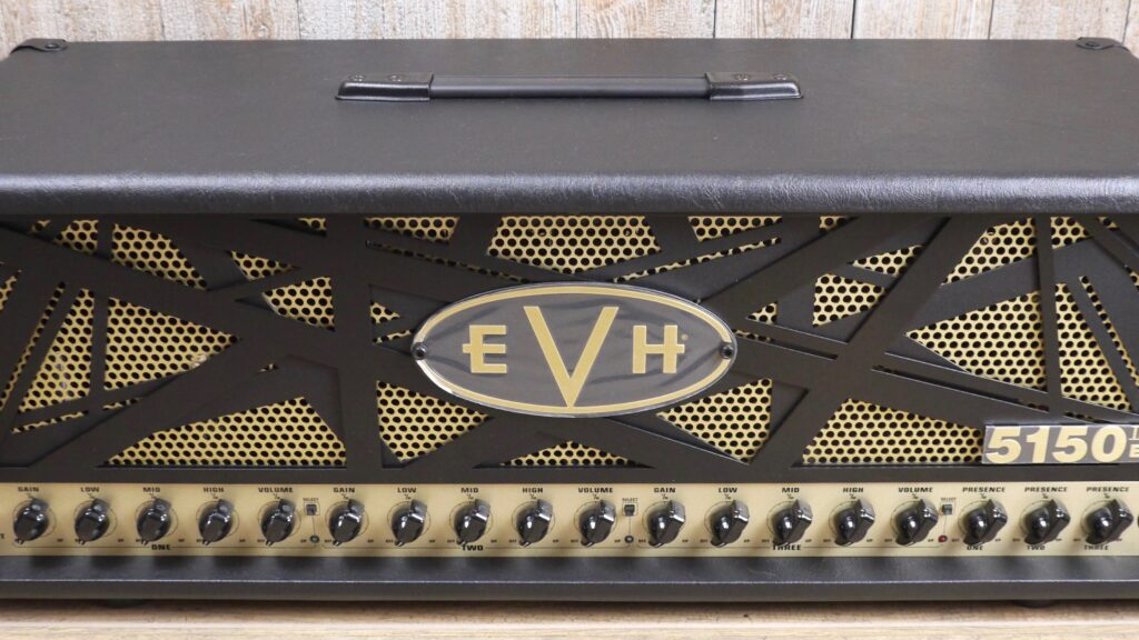 EVH 5150III 100W EL34 Head 2250266000 Made in Mexico incluso 4-Button Footswitch
