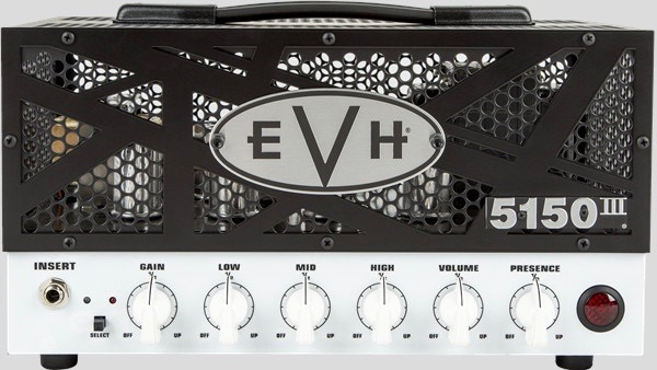 EVH 5150III 15W LBX Head 2256006000 Made in Mexico incluso 1-Button Footswitch