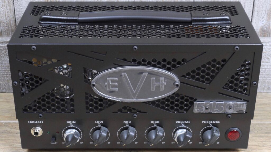 EVH 5150III 15W LBX-S Head Stealth 2256026000 Made in Mexico incluso 1-Button Footswitch