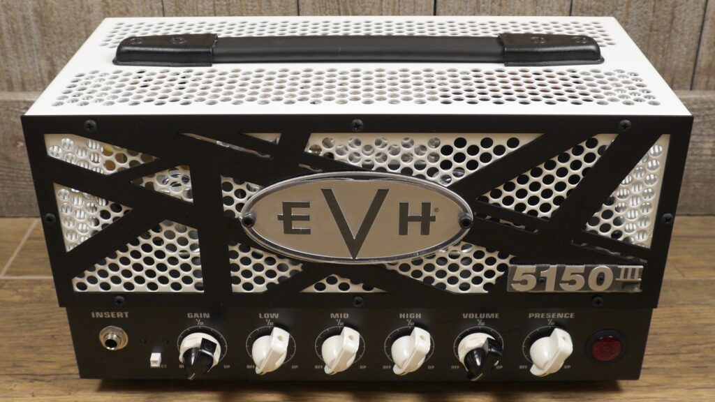 EVH 5150III 15W LBXII Head 2256016000 Made in Mexico incluso 1-Button Footswitch