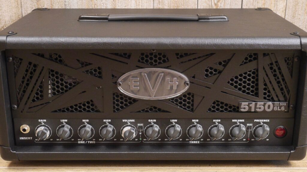 EVH 5150III 50S 6L6 Head Stealth 2253076000 Made in Mexico incluso 4-Button Footswitch