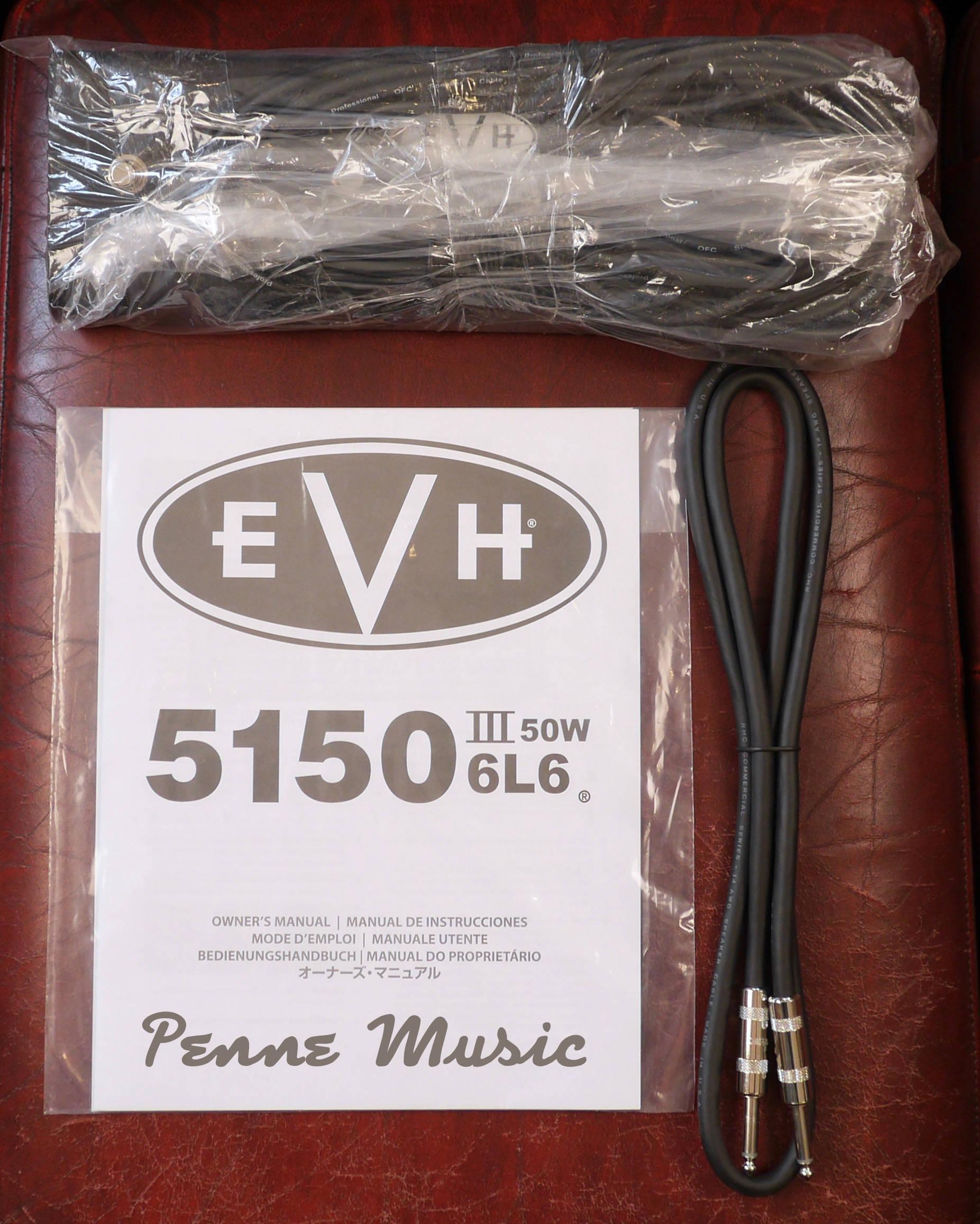EVH 5150III 50W 6L6 Head Ivory 3