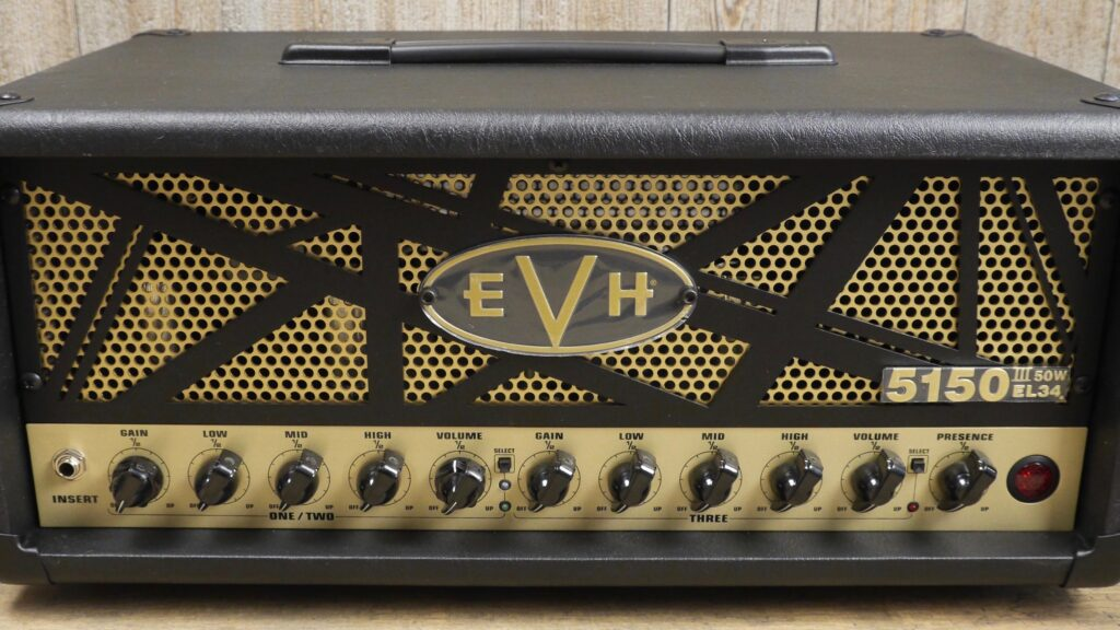 EVH 5150III 50W EL34 Head 2253066000 Made in Mexico incluso 4-Button Footswitch
