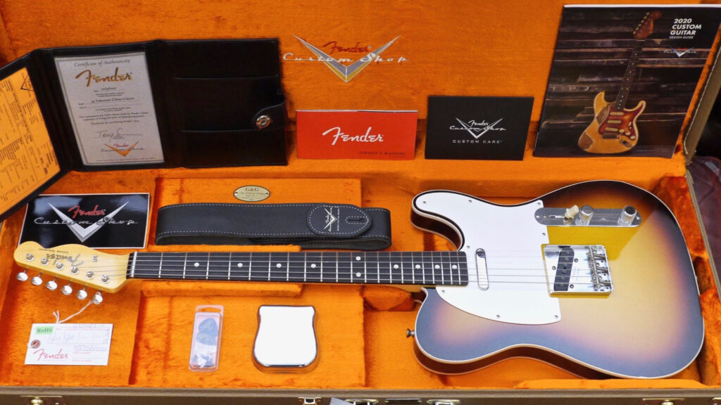 Fender Custom Shop 1959 Telecaster Custom Vintage Custom Chocolate 3-Color Sunburst NOS 9235000564 Made in Usa