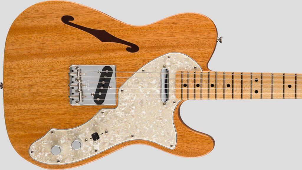 Fender Custom Shop 1968 Telecaster Thinline Vintage Custom Aged Natural NOS 9235000564 Made in Usa